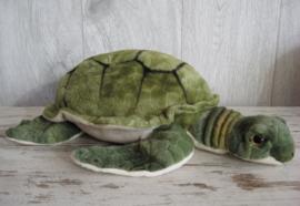 pluchen schildpad groen