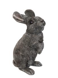 asbeeld/urn Rechtop zittend konijn