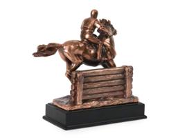 paardenurn/asbeeld 'The Eventer'