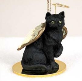 engeltje kat zwart
