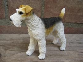 beeldje Fox Terrier draadhaar