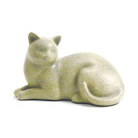 kattenurn liggende kat beige