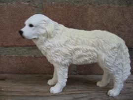 beeldje Pyreneese Berghond wit