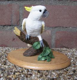beeldje Kaketoe wit