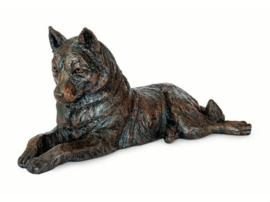 asbeeld/urn Husky | 46 cm