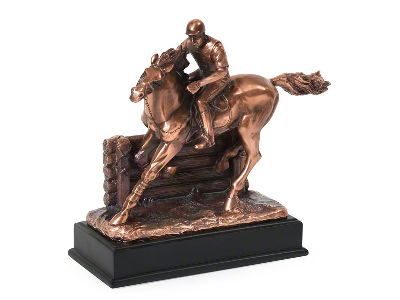 paardenurn/asbeeld 'The Eventer'