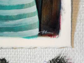 Small portrait #4 | 28,5x25,5cm | TE KOOP