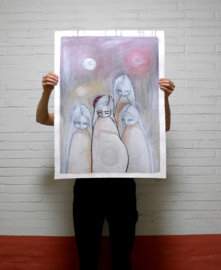 Cocoon | 76x56cm | FOR SALE