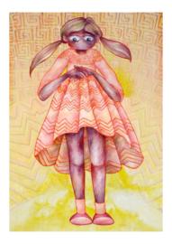 Girl II - art print