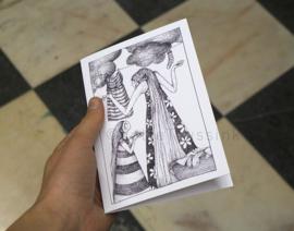 The bird - greeting card