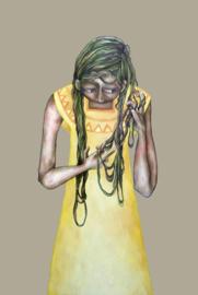 Untangling gloom | 120x80cm | TE KOOP
