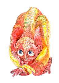 Monster - art print