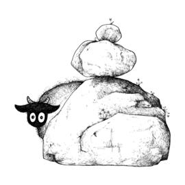 Verlegen Connemara - kunstprint