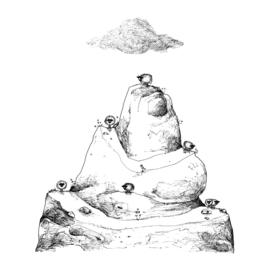 Toren van bèèhbylon- kunstprint