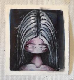 Small portrait #5 | 28,5x25,5cm | TE KOOP