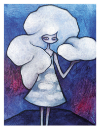Cloudbusting - art print