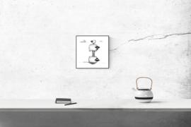 Connemara acrobaten - kunstprint
