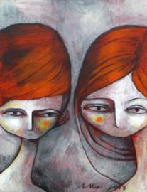 De rode tweeling | VERKOCHT
