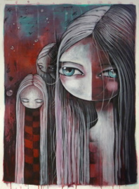 Ghosts | 76x56cm | FOR SALE