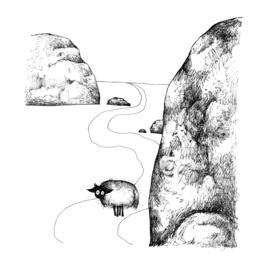 Connemara op weg - kunstprint