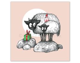 Connemara kerstkaarten | set van 5