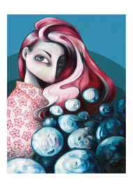 Siren - kunstprint