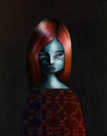 Enya - art print