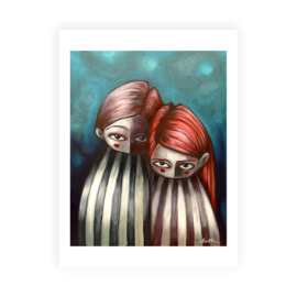 Lovely Couple - kunstprint