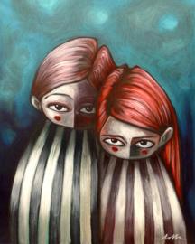 Lovely Couple - kunstprint