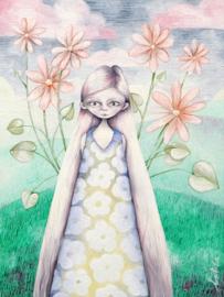 Bloemenmeisje | VERKOCHT