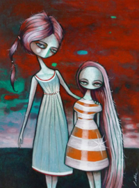 Moeder en dochter | VERKOCHT