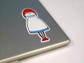 Sticker - Deserted Girl