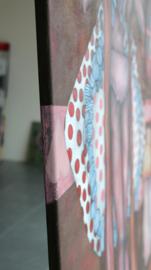 Polka dot | 175x125cm | FOR SALE