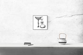 Connemara en uil - kunstprint