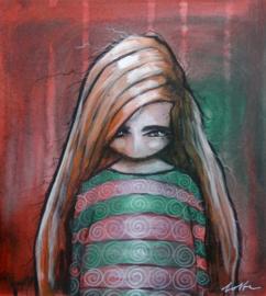 Small portrait #6 | 28,5x25,5cm | TE KOOP