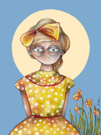 Spring girl | SOLD