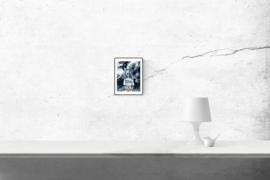 Who's that girl?- kunstprint