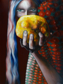 Holding On To The Gold | 80x60cm | TE KOOP