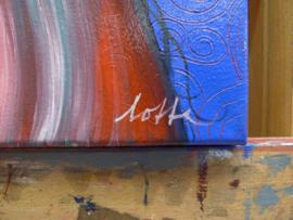 Swirl girl | 50 x 40 cm | TE KOOP
