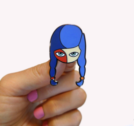 Summertime Sadness enamel pin
