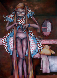Polka dot | 175x125cm | FOR SALE