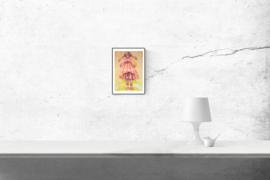 Girl II - kunstprint