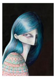 Evangeline - kunstprint