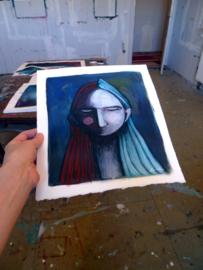 Small portrait #1 | 28,5x25,5cm | TE KOOP