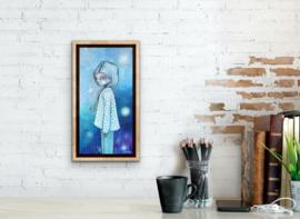 Aoko (Blue Child) | 40x20cm | TE KOOP