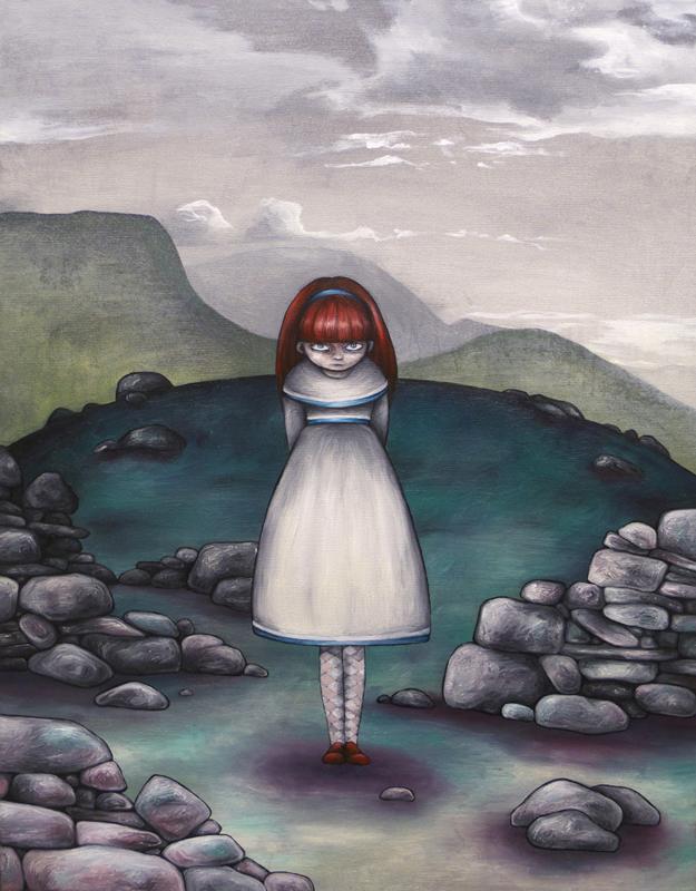 The deserted girl