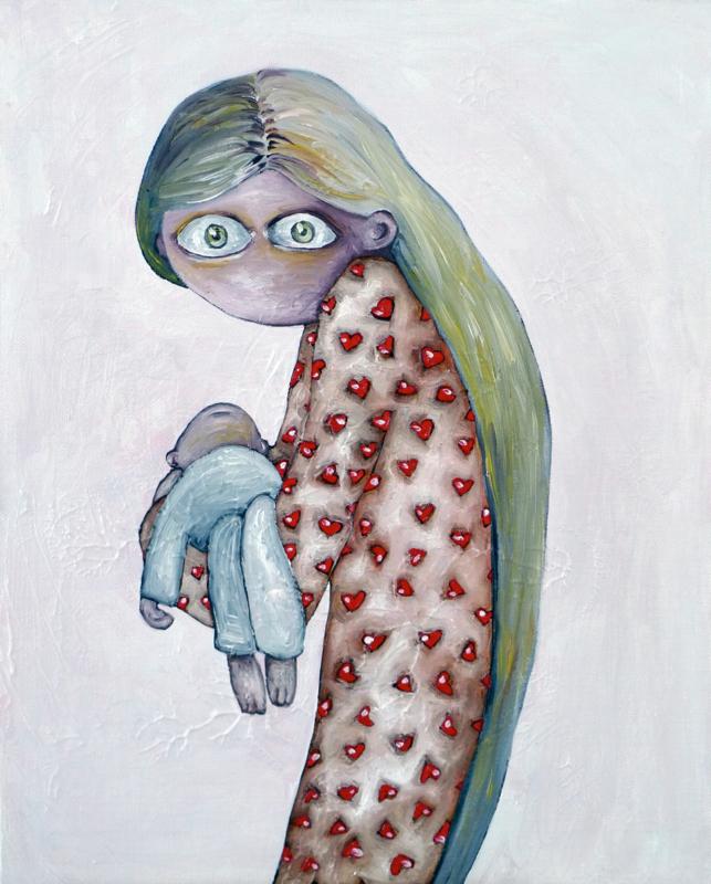Moeder - kunstprint