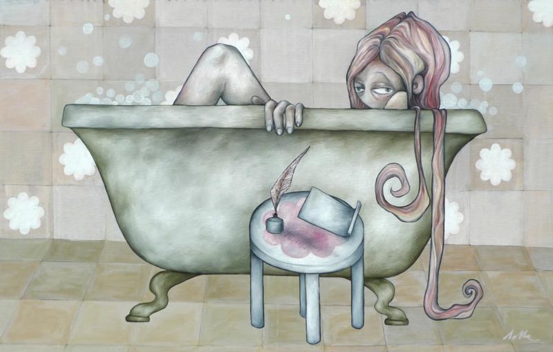 Het bad | VERKOCHT