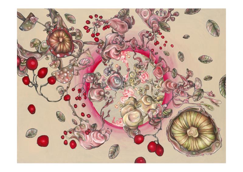 Reality Expanding, Autumn Rising - kunstprint