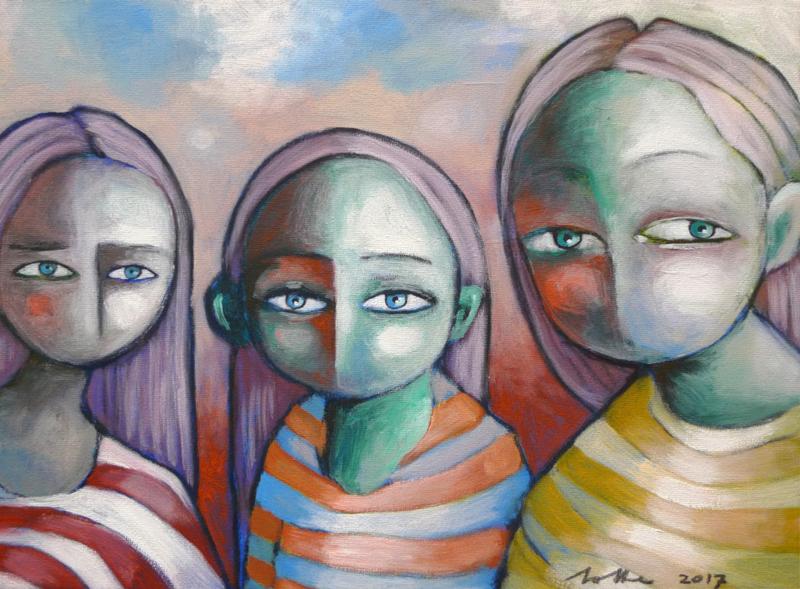Three of us | VERKOCHT
